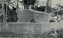 Robert Louis Stevenson's Grave on Mt. Vaea Samoa