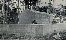 Robert Louis Stevenson's Grave on Mt. Vaea Samoa